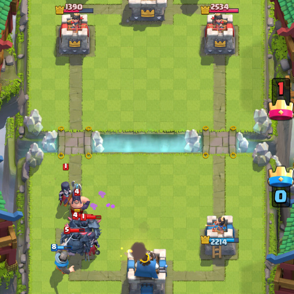 PEKKA-Madness-with-Night-Witch-and-Mirror-clash-royale-kingdom