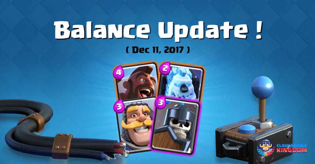 Balance Change-Live!-(11-December-2017)-Clash-Royale-Kingdom