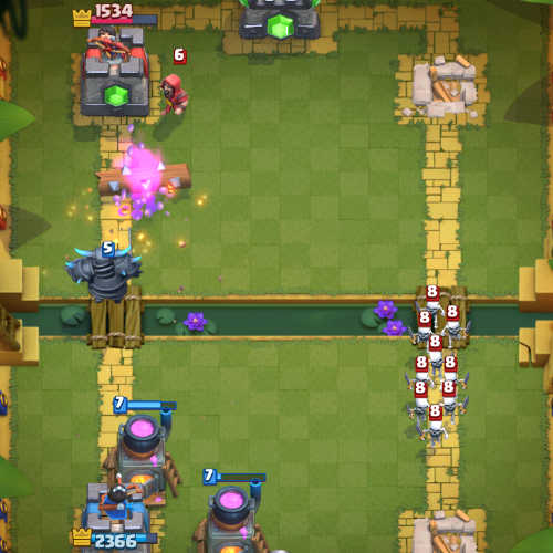 Advance-Pekka-spell-bait-Deck-and-Strategies-clash-royale-kingdom