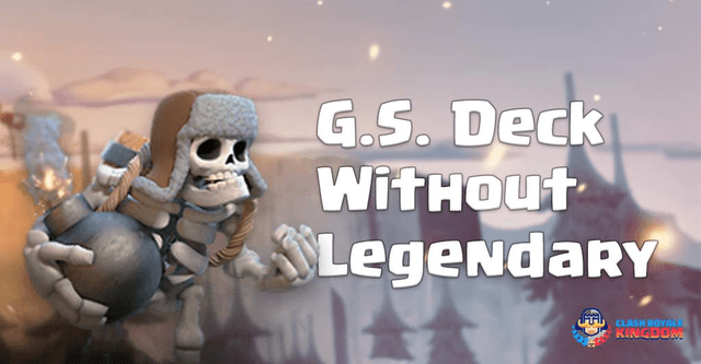 Giant Skeleton Deck Without Legendary