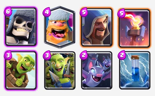 Giant-Skeleton-Deck-for-Challenge-clash-royale-kingdom