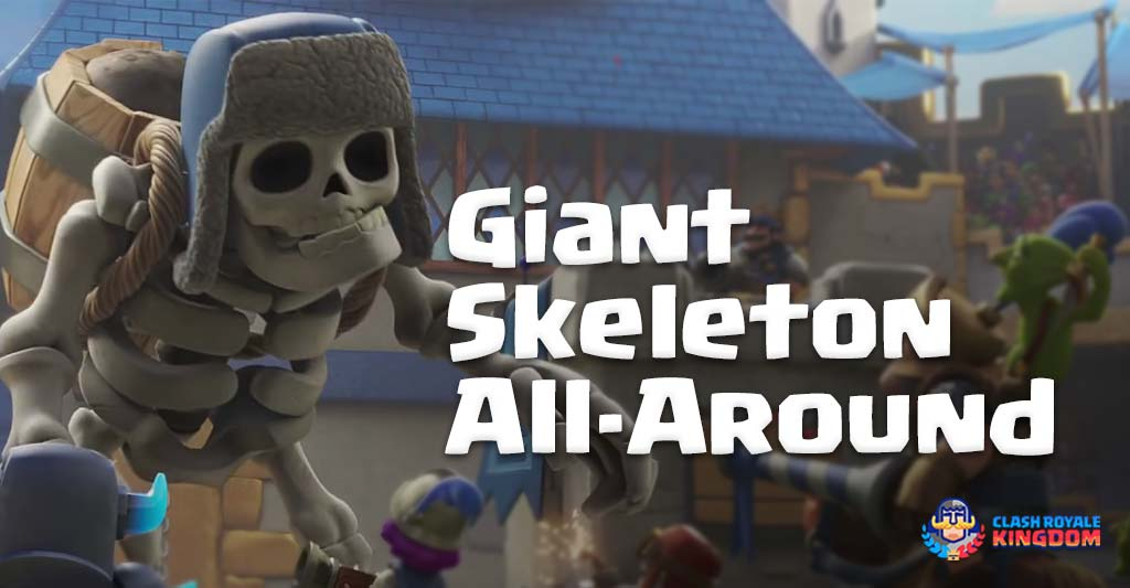The All-around Giant Skeleton Deck