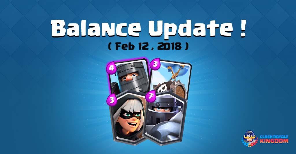 Balance-change-12-feb-2018-Clash-Royale-Kingdom