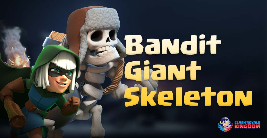 Bandit Giant Skeleton Deck