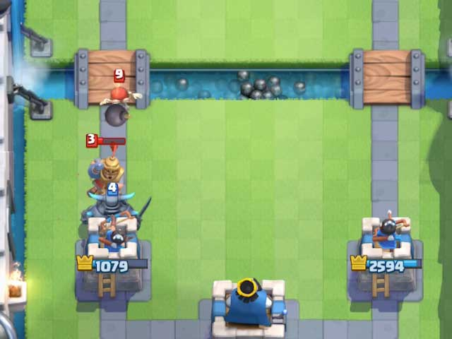 Pekka-defending-tower