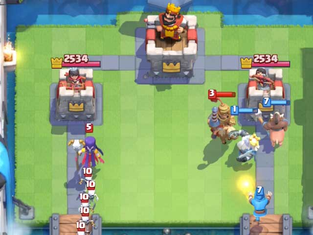 wizard royal ghost hog rider attack