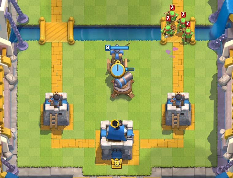Arena 7 To 8 Deck  Legendary Hog Freeze  Clash Royale