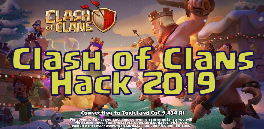 latest clash of clans hack 2019 updated unlimited gems. Black Bedroom Furniture Sets. Home Design Ideas