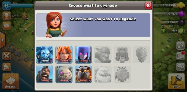 Clash of Clans 11.185.8 Apk Main link