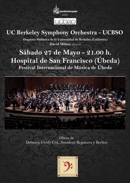 Concierto en Ubeda de la Orquesta Sinfonica de la Universidad de Berkeley