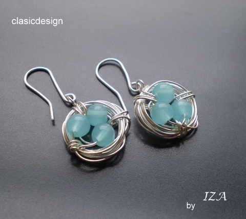 bijuterii -margele-albastre