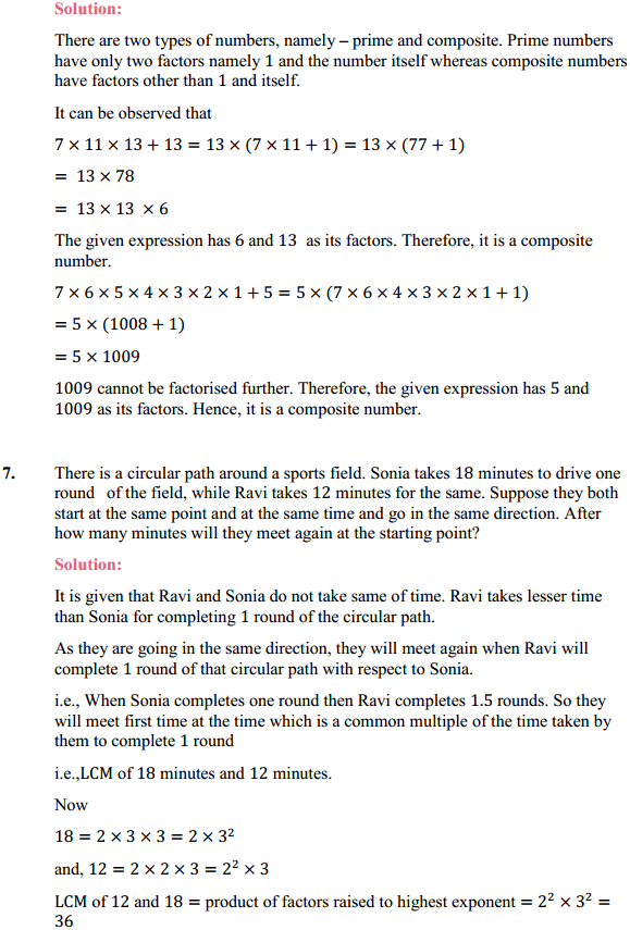 NCERT Solutions for Class 10 Maths Chapter 1 Real Numbers Ex 1.2 5