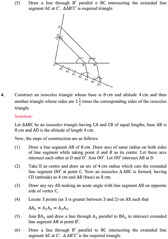 NCERT Solutions for Class 10 Maths Chapter 11 Constructions Ex 11.1 3