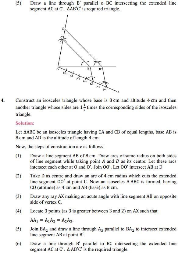 NCERT Solutions for Class 10 Maths Chapter 11 Constructions Ex 11.1 3