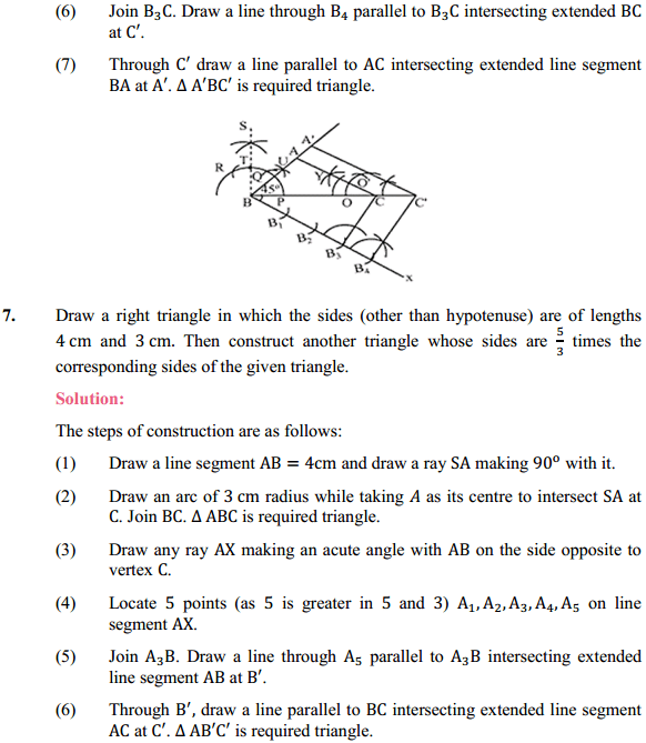 NCERT Solutions for Class 10 Maths Chapter 11 Constructions Ex 11.1 6
