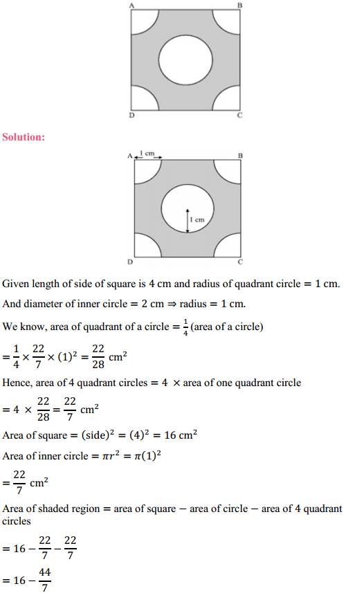 NCERT Solutions for Class 10 Maths Chapter 12 Areas Related to Circles Ex 12.3 6