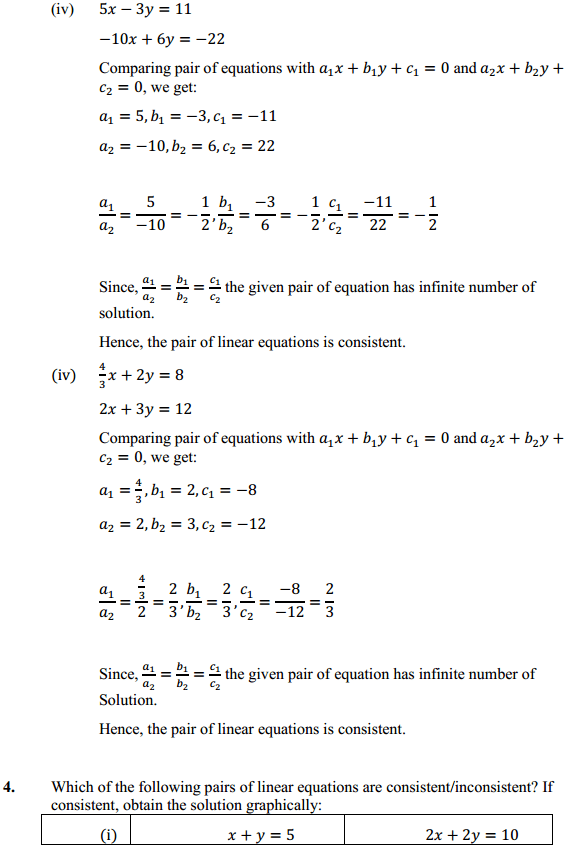 NCERT Solutions for Class 10 Maths Chapter 3 Pair of Linear Equations in Two Variables Ex 3.2 7