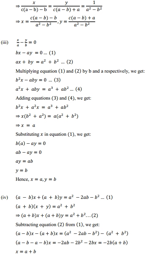 NCERT Solutions for Class 10 Maths Chapter 3 Pair of Linear Equations in Two Variables Ex 3.7 8
