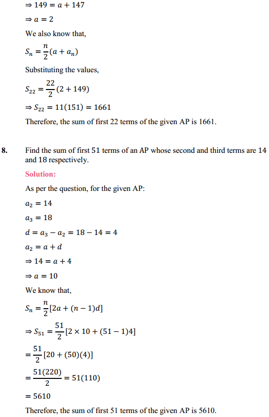 NCERT Solutions for Class 10 Maths Chapter 5 Arithmetic Progressions Ex 5.3 15