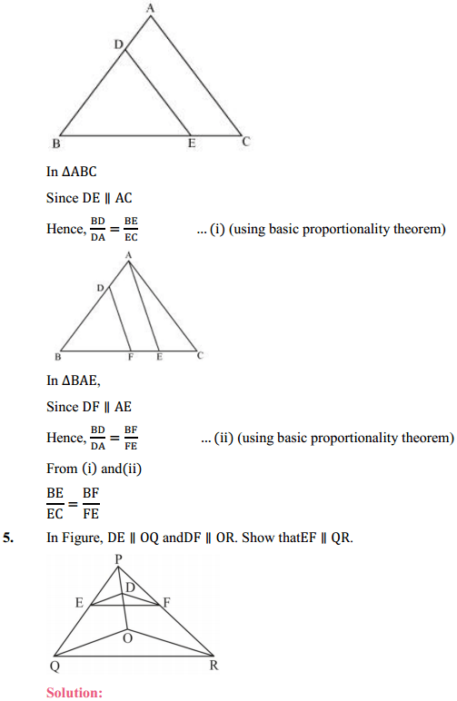 NCERT Solutions for Class 10 Maths Chapter 6 Triangles Ex 6.2 7