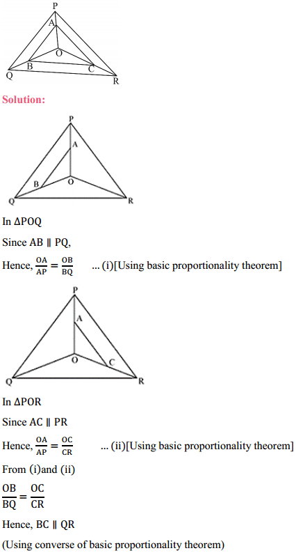 NCERT Solutions for Class 10 Maths Chapter 6 Triangles Ex 6.2 9