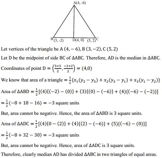 NCERT Solutions for Class 10 Maths Chapter 7 Coordinate Geometry Ex 7.3 4