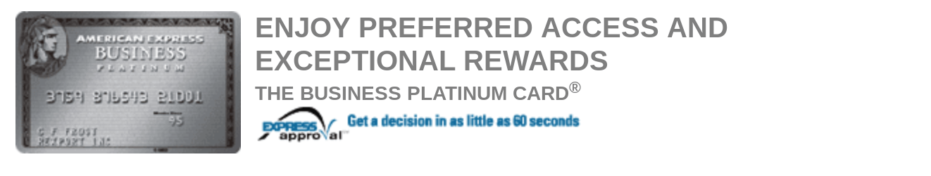 american express platinum rsvp code