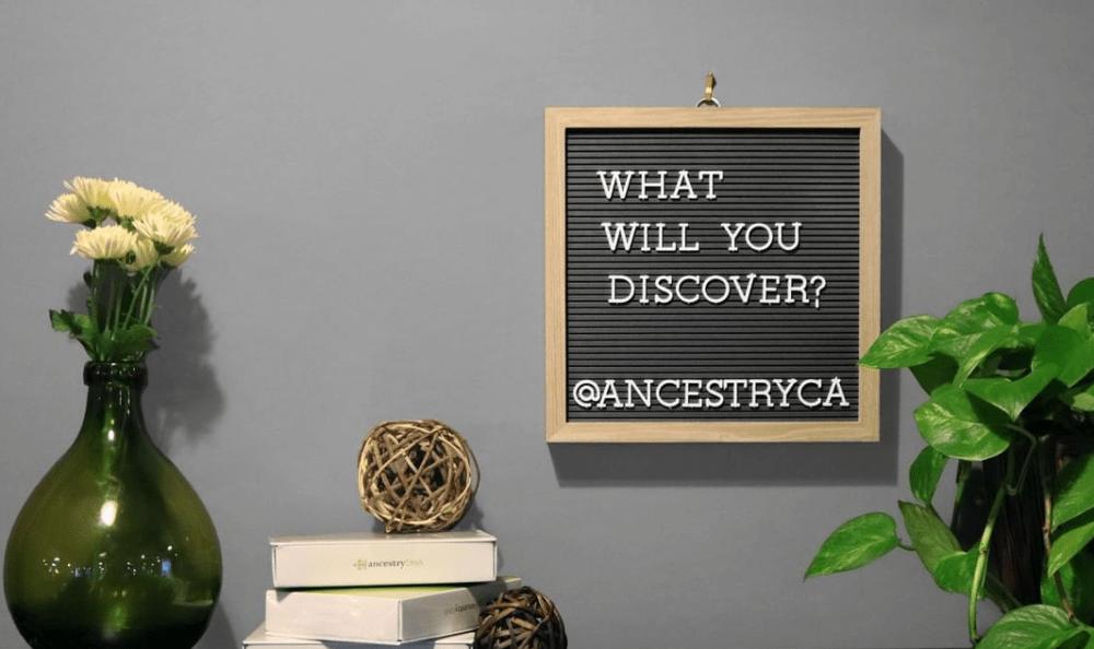 Go To AncestryDNA.com/Activate