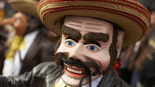 Peruvian Festival Mask