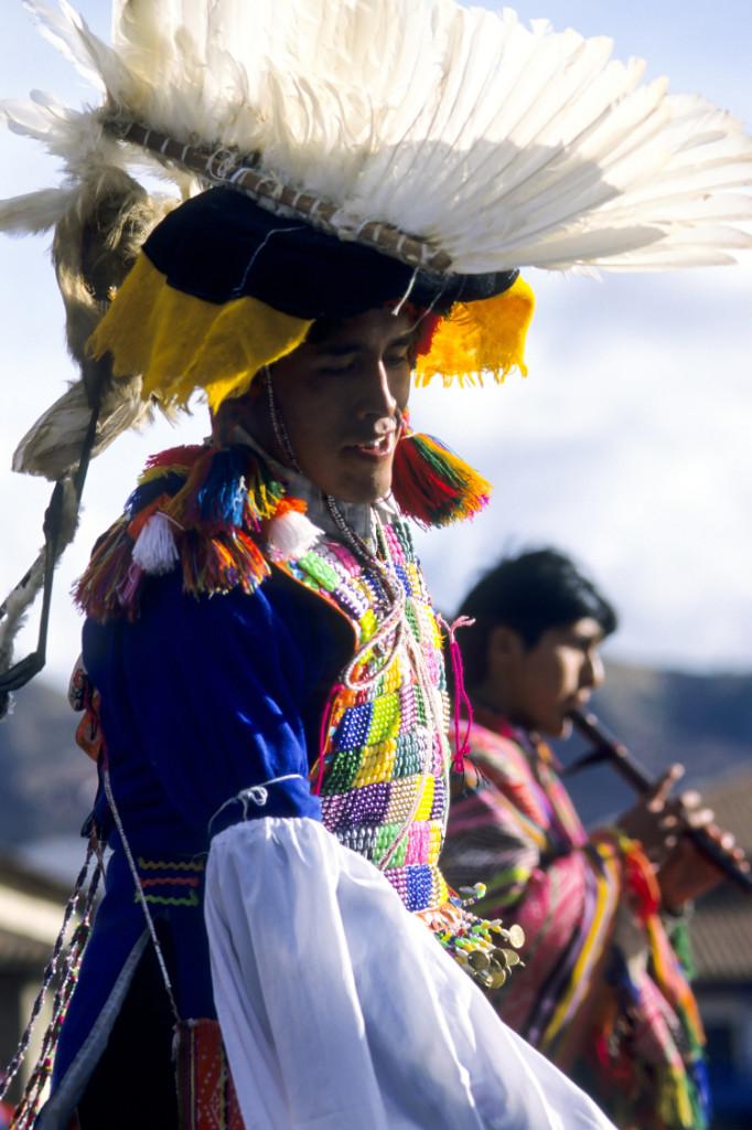 Peruvian folk musicians