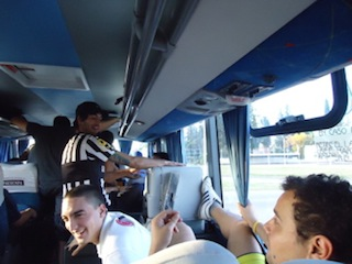 ''Boca bus'' to Rafaela