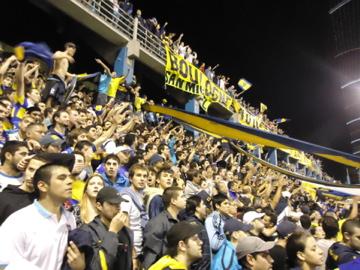 CABJ atmosphere in the stadium