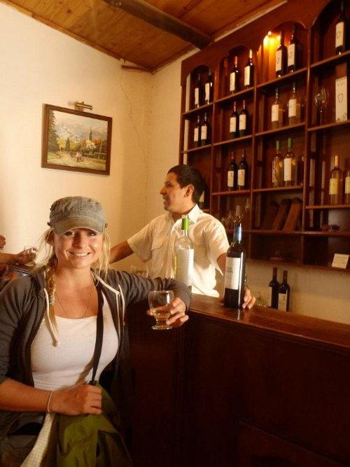 wine tasting torrontes