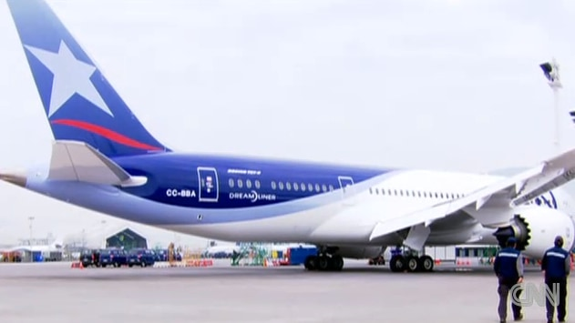 South America's first Dreamliner
