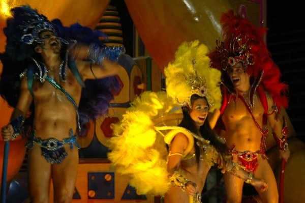 Carnival in South America