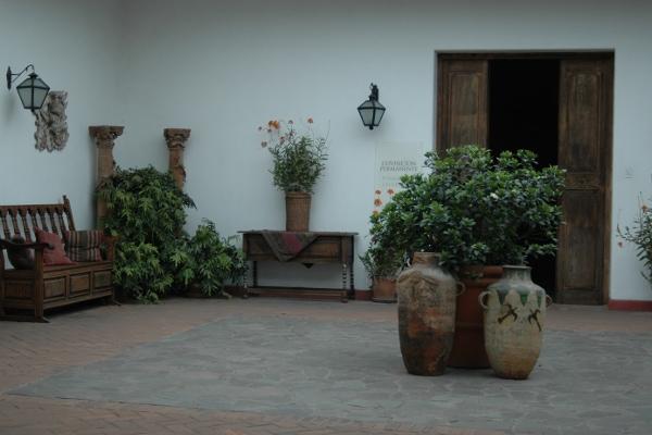 larco museum patio