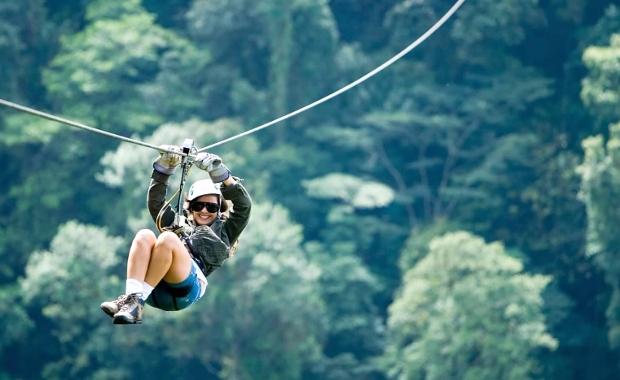Arenal Ziplining