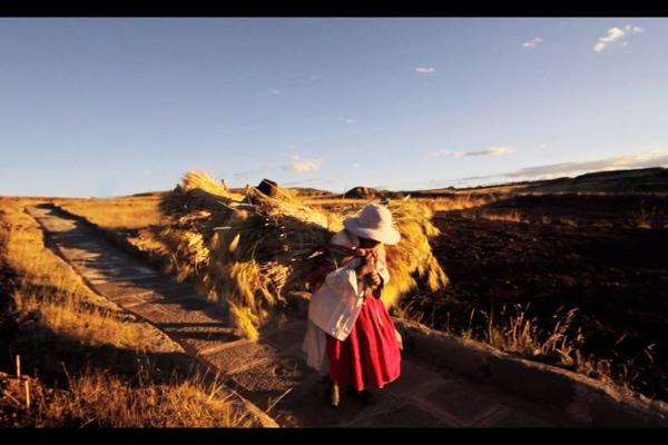 Lake Titicaca island life