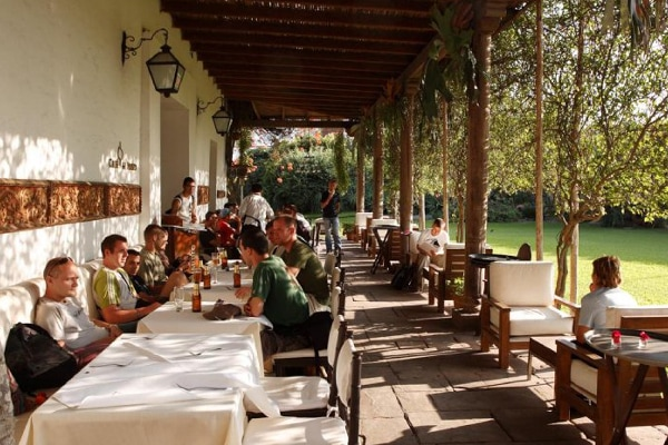 Museo Larco restaurant terrace