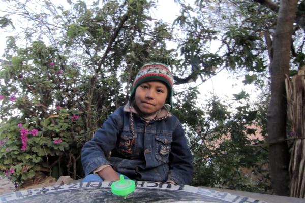 Titicaca homestay boy