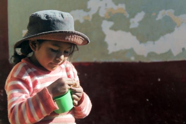 Titicaca homestay local girl