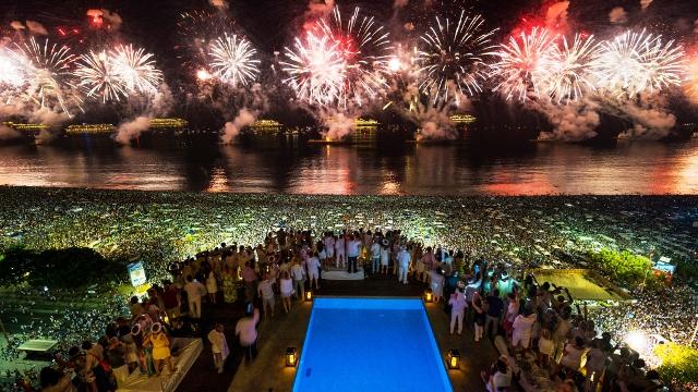 Copacabana New Year's Eve Rio de Janeiro