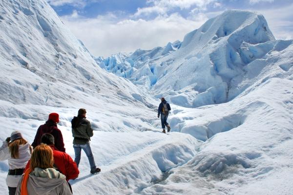 Awe-inspiring Perito Moreno trekking