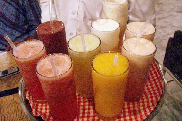 Costa Rica fruit juices