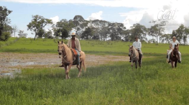 Pantanal horseback riding