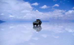 Salar de Uyuni mirror