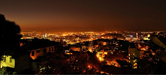 Aprazivel night view