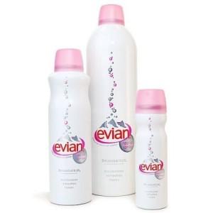 Travel essential Evian Facial Spray