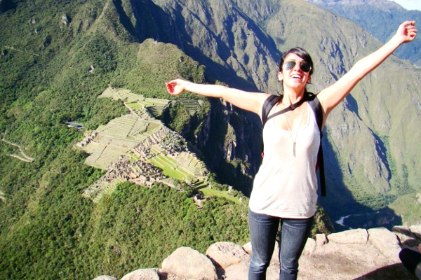 Huayna Pichu Montse reached the top!