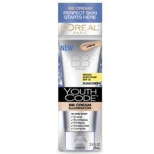 Travel essential L'Oreal Youth Code BB Creame